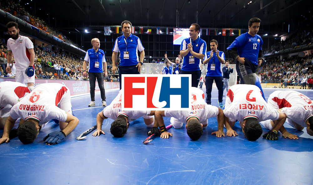 BERLIN - Indoor Hockey World Cup<br /> Bronze: Iran - Australia<br /> Iran won the 3rd place.<br /> foto: <br /> WORLDSPORTPICS COPYRIGHT FRANK UIJLENBROEK
