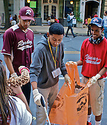 Hispanic Festival, Reading, Berks Co., PA Youth Clean Up After Fest