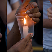 AIDS Candlelight Vigil, remembrance  and memorial of love ones who died of HIV/AIDS and a show of support for survivors and those now afflicted.  A show of  emotions of grief and sorrow.<br /> <br /> AIDS Candlelight Vigil - GOR-75145-10<br /> AIDS Candlelight Vigil - GOR-75152-10<br /> AIDS Candlelight Vigil - GOR-75158-10