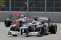 MOTORSPORT - F1 2013 - GRAND PRIX OF CANADA - MONTREAL (CAN) - 07 TO 09/06/2013 - PHOTO FRANCOIS FLAMAND / DPPI - BOTTAS VALTTERI (FIN) - WILLIAMS F1 RENAULT FW35 - ACTION