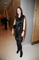 ROKSANDA ILLINCIC at a party to celebrate Lancome's 10th anniversary of sponsorship of the BAFTA's in association with Harper's Bazaar magazine held at St.Martin's Lane Hotel, London on 19th February 2010.