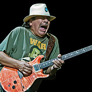 Carlos Santana live at the Marcus Amphitheater on his Universal Tone Tour in Milwaukee, WI
