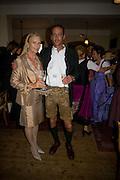 DANCHER GIMCIA; PETER HAHN; Matinee at the Grosses Festpielhaus followed by lunch at Schloss Aigen.  Amadeus Weekend. Salzburg. 23 August 2008.  *** Local Caption *** -DO NOT ARCHIVE-© Copyright Photograph by Dafydd Jones. 248 Clapham Rd. London SW9 0PZ. Tel 0207 820 0771. www.dafjones.com.