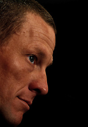 11th Tour Down Under Press conference of Lance Armstrong (USA) Astana. 17 January 2009