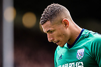 LONDON, ENGLAND - MAY 13:  West Bromwich Albion (8) Jake Livermore during  the Premier League match between Crystal Palace and West Bromwich Albion at Selhurst Park on May 13, 2018 in London, England. MB Media