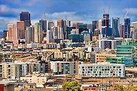 San Francisco Skyline from Potrero Hill