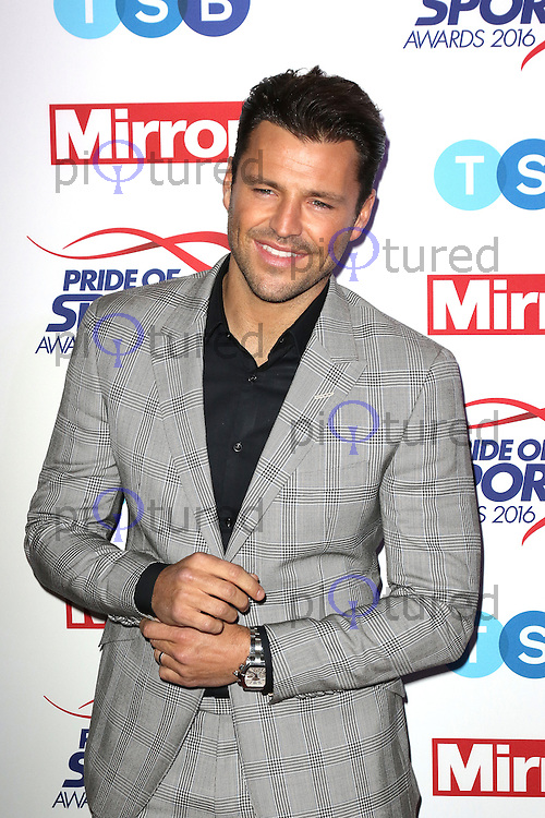 Mark Wright, Pride of Sport Awards, Grosvenor House Hotel, London UK, 07 December 2016, Photo by Richard Goldschmidt