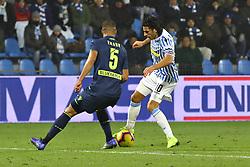 """Foto /Filippo Rubin<br /> 26/12/2018 Ferrara (Italia)<br /> Sport Calcio<br /> Spal - Udinese - Campionato di calcio Serie A 2018/2019 - Stadio """"Paolo Mazza""""<br /> Nella foto: SERGIO FLOCCARI (SPAL)<br /> <br /> Photo /Filippo Rubin<br /> December 26, 2018 Ferrara (Italy)<br /> Sport Soccer<br /> Spal vs Udinese - Italian Football Championship League A 2018/2019 - """"Paolo Mazza"""" Stadium <br /> In the pic: SERGIO FLOCCARI (SPAL)"""