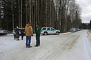 Presentation for the cutting down of the 2017 Capitol Christmas tree located at the Historic Upper Ford Ranger Station in the Upper Yaak Valley. Kootenai National Forest in the Purcell Mountains, northwest Montana.