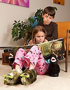 20090520 Dino Slippers
