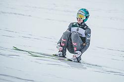 02.02.2019, Heini Klopfer Skiflugschanze, Oberstdorf, GER, FIS Weltcup Skiflug, Oberstdorf, im Bild Michael Hayboeck (AUT) // Michael Hayboeck of Austria during the FIS Ski Jumping World Cup at the Heini Klopfer Skiflugschanze in Oberstdorf, Germany on 2019/02/02. EXPA Pictures © 2019, PhotoCredit: EXPA/ JFK