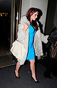 16.MARCH.2011. LONDON<br /> <br /> AMY ADAMS LEAVING THE MAYFAIR HOTEL AT 1.30AM AFTER HAVING A DRINK INSIDE THE BAR WITH KERRY KATONA, NICOLA McLEAN AND MEL B'S SISTER DANIELLE BROWN.<br /> <br /> BYLINE: EDBIMAGEARCHIVE.COM<br /> <br /> *THIS IMAGE IS STRICTLY FOR UK NEWSPAPERS AND MAGAZINES ONLY*<br /> *FOR WORLD WIDE SALES AND WEB USE PLEASE CONTACT EDBIMAGEARCHIVE - 0208 954 5968*