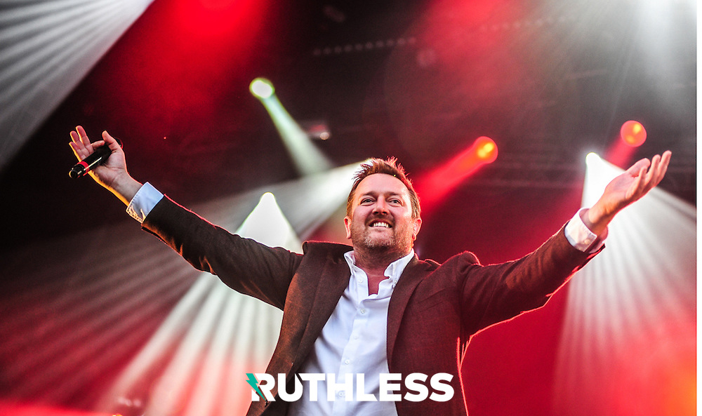 Guy Garvey of Elbow, Electric Picnic, 2012