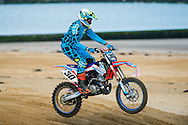 Margate, UK. 23rd October 2016. Action from the BXUK Margate International Beach Cross . © Dan Law/DanLawPhotography.com