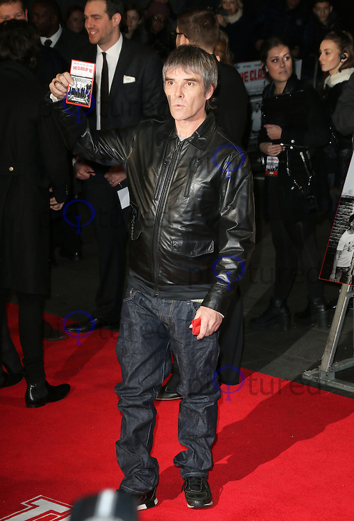 Ian Brown, The Class of 92 - World Film Premiere, Odeon West End, Leicester Square, London UK, 01 December 2013, Photo by Richard Goldschmidt