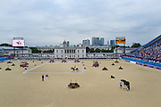 Paralympic equestrian at Greenwich Park in South London