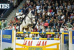 Deusser Daniel, (GER), Cornet D Amour<br /> Longines FEI World Cup Jumping Part III - Goteborg 2016<br /> © Hippo Foto - Dirk Caremans<br /> 28/03/16