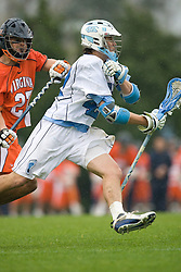 05 April 2008: North Carolina Tar Heels midfielder Sean Burke (42) during a 11-12 OT loss to the Virginia Cavaliers on Fetzer Field in Chapel Hill, NC.