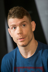 Paul Felder, UFC lightweight. UFC Fight Night : Ultimate Media Day at the  Crowne Plaza Glasgow. This is for the forthcoming UFC Fight Night Glasgow at the SSE Hydro on 16th July 2017.