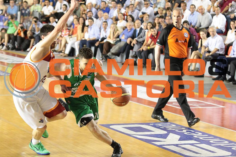 DESCRIZIONE : Roma Lega A 2012-2013 Acea Roma Montepaschi Siena finale gara 5<br /> GIOCATORE : Aleksander Rasic<br /> CATEGORIA : palleggio penetrazione<br /> SQUADRA : Montepaschi Siena<br /> EVENTO : Campionato Lega A 2012-2013 playoff finale gara 5<br /> GARA : Acea Roma Montepaschi Siena<br /> DATA : 19/06/2013<br /> SPORT : Pallacanestro <br /> AUTORE : Agenzia Ciamillo-Castoria/M.Simoni<br /> Galleria : Lega Basket A 2012-2013  <br /> Fotonotizia : Roma Lega A 2012-2013 Acea Roma Montepaschi Siena playoff finale gara 5<br /> Predefinita :