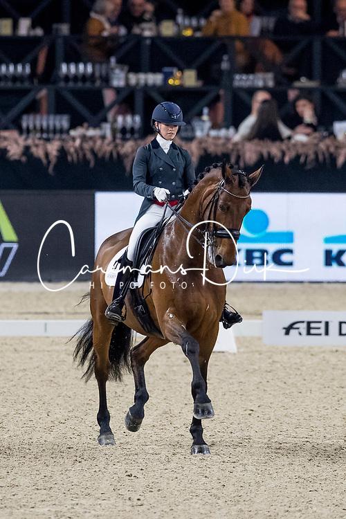 Fry Charlotte, GBR, Graaf Leatherdale T<br /> Jumping Mechelen 2019<br /> © Hippo Foto - Sharon Vandeput<br /> 29/12/19