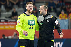 Andreas Wolff of Germany during handball match between National teams of Germany and Spain on Day 7 in Main Round of Men's EHF EURO 2018, on January 24, 2018 in Arena Varazdin, Varazdin, Croatia. Photo by Mario Horvat / Sportida