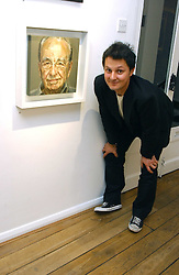 Artist JONATHAN YEO at an exhibition of his portrait paintings held at Eleven, 11 Eccleston Street, London SW1 on 16th February 2006.<br />