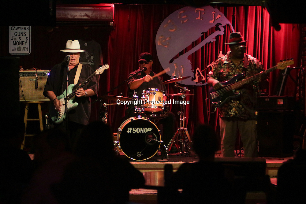 Lawyers, Guns & Money perform Friday July 25, 2014 during the Blues Cruise After Party at The Rusty Nail in Wilmington, N.C. (Jason A. Frizzelle)