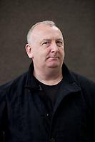 A portrait of Donal McLaughlin at the Edinburgh International Book Festival 2012 in Charlotte Square Gardens<br /> <br /> Pic by Pako Mera