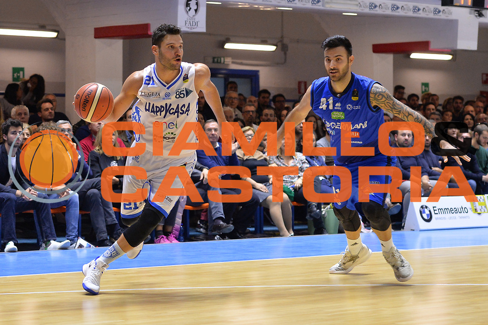 Giuri Marco<br /> Happycasa Brindisi - Germani Basket Brescia<br /> Legabasket serieA2017-2018<br /> Brindisi , 29/10/2017<br /> Foto Ciamillo-Castoria/M.Longo
