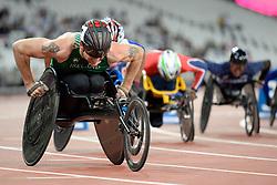 19/07/2017 : Patrick Monahan (IRL), T53, Men's 800m, at the 2017 World Para Athletics Championships, Olympic Stadium, London, United Kingdom