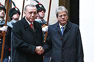 20180205 - Paolo Gentiloni incontra Erdogan, il presidente turco