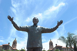 60835849 <br /> The statue of Nelson Mandela is seen at the Union Buildings in Pretoria, South Africa, Dec. 16, 2013. A nine-meter statue of former president Nelson Mandela was unveiled on Monday as part of the Reconciliation Day celebrations, Pretoria, South Africa, Monday, 16th December 2013. Picture by  imago / i-Images<br /> UK ONLY