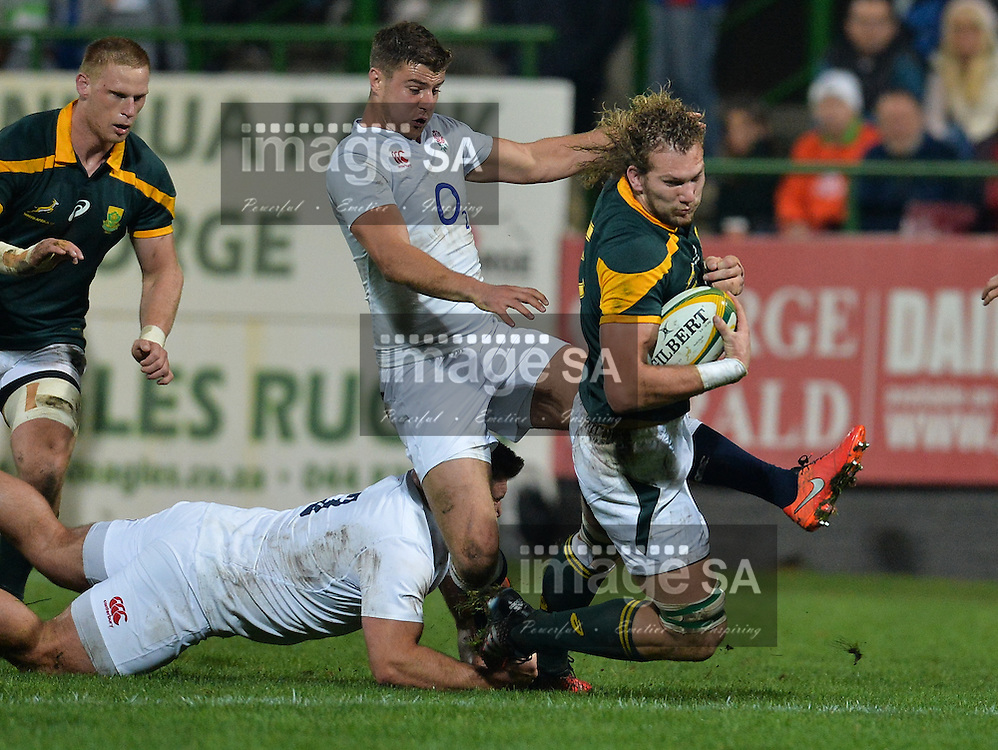 GEORGE, SOUTH AFRICA - JUNE 17: RG Snyman of South Africa during the match between South Africa 'A' and England Saxons at Outeniqua Park on June 17 2016 in George, South Africa. (Photo by Roger Sedres/Gallo Images)
