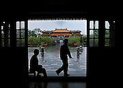 Vietnam, Hué: inside the imperial city.