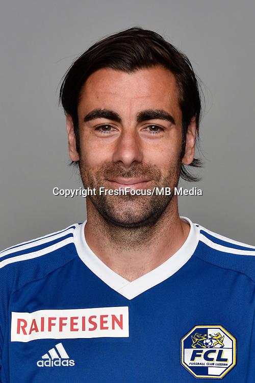15.07.2016; Luzern; Fussball - FC Luzern;<br />Tomislav Puljic (Luzern)<br />(Martin Meienberger/freshfocus)