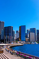 Circular Quay and the Central Business District, Sydney, New South Wales, Australia