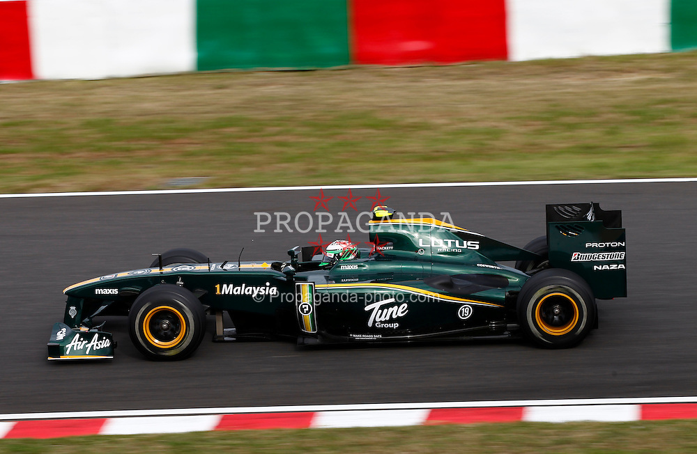 Motorsports / Formula 1: World Championship 2010, GP of Japan, 19 Heikki Kovalainen (FIN, Lotus F1 Racing),