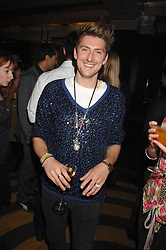 Designer HENRY HOLLAND at the M.A.C. Viva Glam party featuring a performance by Dita Von Teese of 'Lipteese' held at the Bloomsbury Ballroom, Victoria House, Bloomsbury Square, London on 27th June 2007.<br />