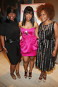 l to r: Lauren Lake, Allyson Leakes and Free at The She-Blogs Launch Party sponsored by Belevedere Vodka and held at Saks Fifth Avenue on July 23, 2009 in New York City..Founded by Allyson Leakes, She-blogs.com is an empowerment blog geared to inspire women to reach fro their dreams and to help them realize that they can lead happy, balance and fulfiling lives