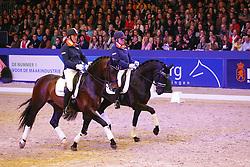 Jespers Frenk (NED) - Adamo<br /> KWPN Stallion Selection - 's Hertogenbosch 2014<br /> © Dirk Caremans