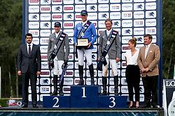 Ahlmann Christian, Von Eckermann Henrik, Beerbaum Ludger, <br /> LGCT Valkenswaard 2014<br /> © Sharon Vandeput<br /> 2/08/14