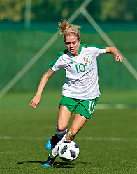 MARBELLA, SPAIN - Thursday, February 28, 2019: Republic of Ireland's Denise O'Sullivan during an international friendly match between Wales and Republic of Ireland at the Marbella Football Centre. (Pic by David Rawcliffe/Propaganda)