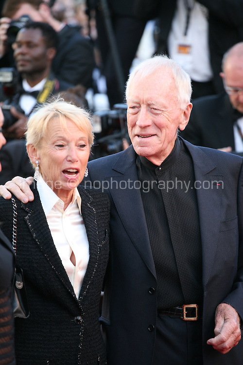 Actor Max von Sydow and guests at The Immigrant film gala screening at the Cannes Film Festival Friday 24th May May 2013