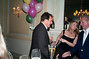 BRENT HOBERMAN; KATE REARDON; GRAYDON CARTER, Kate Reardon and Michael Roberts host a party to celebrate the launch of Vanity Fair on Couture. The Ballroom, Moet Hennessy, 13 Grosvenor Crescent. London. 27 October 2010. -DO NOT ARCHIVE-© Copyright Photograph by Dafydd Jones. 248 Clapham Rd. London SW9 0PZ. Tel 0207 820 0771. www.dafjones.com.