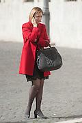2013/03/19 Roma, parlamentari in Piazza Montecitorio. Nella foto Rosa Villeco Calipari.<br /> Rome, parliamentarians in Montecitorio Square. In the picture Rosa Villeco Calipari - &copy; PIERPAOLO SCAVUZZO