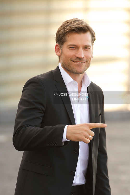 Nikolaj Coster-Waldau attend 'A Second Chance' during the 62nd San Sebastian International Film Festival at the Kursaal Palace on September 21, 2014 in San Sebastian, Spain.