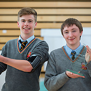 27.04.2016.          <br />  Kalin Foy and Ciara Coyle win SciFest@LIT<br /> Kalin Foy and Ciara Coyle from Colaiste Chiarain Croom to represent Limerick at Ireland's largest science competition.<br /> <br /> Pictured are Ardscoil Ris students, Diarmuid O Hanlon and Padraig Ryan who's project , Your Health is Your Wealth: An app you can use at home to monitor your overall health, won the Boston Scientific Medical Devices Award.<br /> <br /> Of the over 110 projects exhibited at SciFest@LIT 2016, the top prize on the day went to Kalin Foy and Ciara Coyle from Colaiste Chiarain Croom for their project, 'To design and manufacture wireless trailer lights'. The runner-up prize went to a team from John the Baptist Community School, Hospital with their project on 'Educating the Youth of Ireland about Farm Safety'. Picture: Fusionshooters