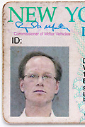 id photo on New York drivers license