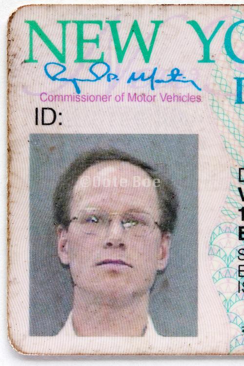 id photo on New York drivers license